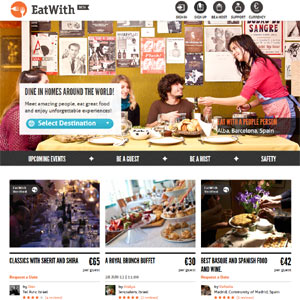 EatWith, la web que convierte las casas particulares en restaurantes de cinco tenedores