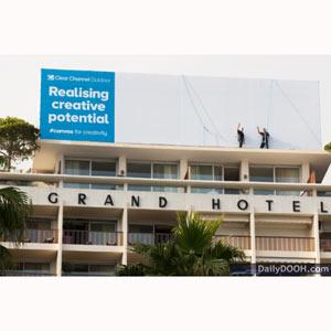 Clear Channel viaja a #CannesLions para ayudar a la publicidad exterior a ocupar el lugar creativo que se merece