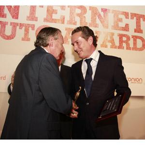 Toyota recibe el Premio Especial a la mejor estrategia publicitaria digital en la 11ª edición de los premios Internet Auto Award