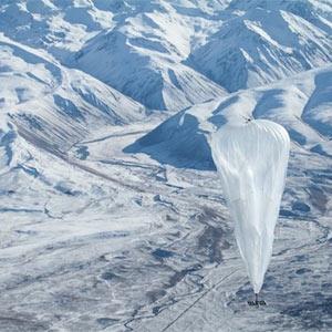 Google llevará internet a todos los rincones del planeta ¡subido a un globo!