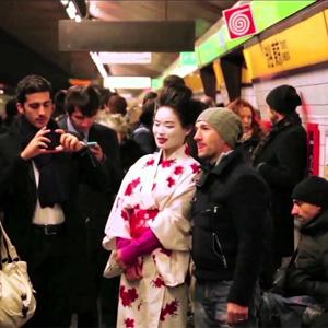 De Milán a Tokio en sólo unos segundos por obra y gracia del marketing de guerrilla