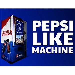 Pepsi lanza una novedosa máquina expendedora que acepta