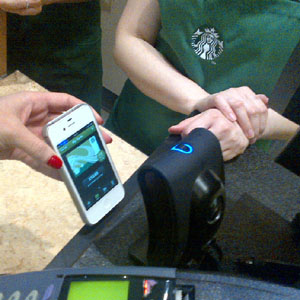 Starbucks domina el pago a través del móvil en Estados Unidos