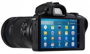 Se filtran imágenes de la nueva cámara inteligente de Samsung, la Galaxy NX