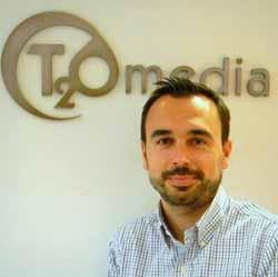 Alfonso del Barrio se incorpora a T2O media como International Service Director