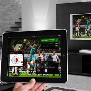 Las segundas pantallas y las retransmisiones deportivas tienen aún poco