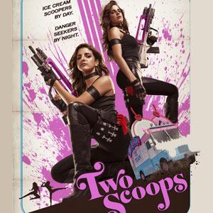 BlackBerry y Robert Rodríguez en 'Two Scoops', un cortometraje muy guerrero