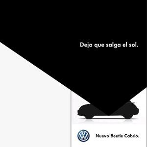 Volkswagen promociona su nuevo Beetle Cabrio con publicidad Microsoft de última generación