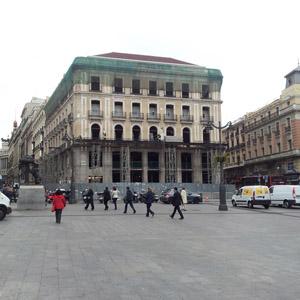 Las obras del edificio de Apple en la Puerta del Sol descubren restos de un hospital del siglo XV