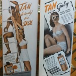 20 anuncios vintage de bronceadores que presumen de moreno creativo