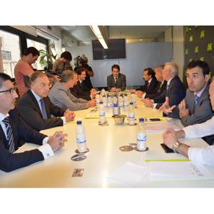 El nuevo consejo de Administración de Aramón ha tomado posesión de sus nuevos cargos