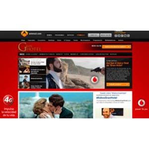 Vinculación multipantalla de Vodafone en Atresmedia para despedir