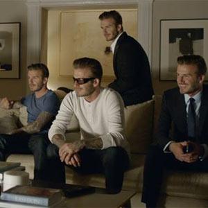 David Beckham se multiplica como los panes y los peces en un nuevo spot de Sky Sports