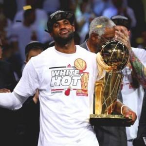 Nike lanza una nueva campaña para honrar el segundo campeonato consecutivo de LeBron James