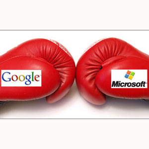 A pesar de los beneficios millonarios, los inversores de Google y Microsoft han perdido 30.500 millones en sólo 40 minutos