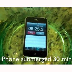 ¡Báñese con su smartphone! NeverWet, un spray repelente de líquidos revoluciona la red