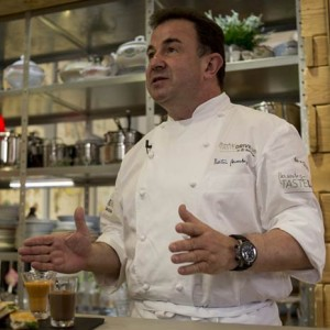 Skoda y el cocinero Martin Berasategui elaboran un menú pensado para antes de viajar