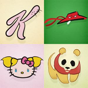 Si Los Logos De 20 Grandes Marcas Fueran Dibujos Animados Y