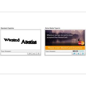 Los Captchas, el nuevo e idóneo posicionamiento publicitario digital para Unilever y MasterCard