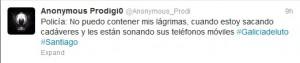 Ola de solidaridad en Twitter tras el accidente de tren de Santiago