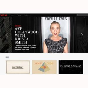 Condé Nast estrena el canal de Vanity Fair, dejando patente su apuesta por el vídeo