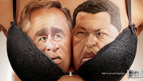 Bush - Chavez
