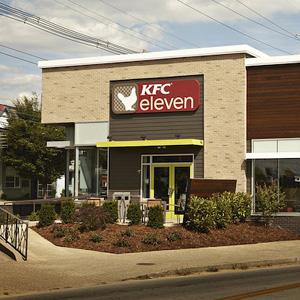 KFC abre un nuevo restaurante donde su tradicional pollo frito de Kentucky no está en el menú