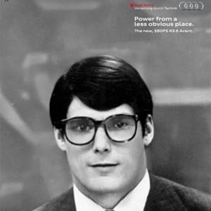 El fallecido Christopher Reeve, más conocido como Superman, protagoniza la campaña gráfica de Audi