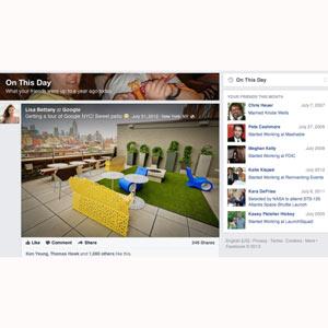Facebook lanza sus particulares viajes en el tiempo...¿se atreve?
