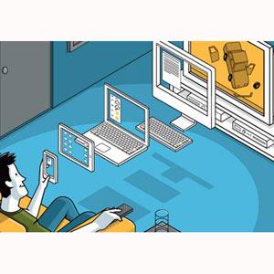 La televisión sigue aguantando el tirón y ocupa más tiempo en la vida de las personas que internet