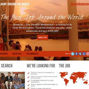 ¿Quiere encontrar el mejor trabajo del mundo? Eche un vistazo a esta página web