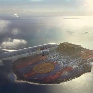 Los aviones de Qatar Airways aterrizan en un nuevo país llamado FC Barcelona en un spot muy azulgrana