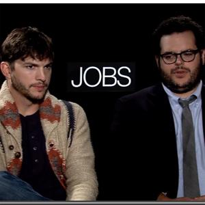 Ashton Kutcher y Josh Gad hablan sobre el making of de JOBS, la película del fundador de Apple