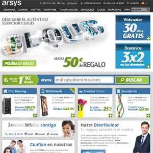 1&1 echa el lazo a la empresa española de hosting Arsys por 140 millones de euros