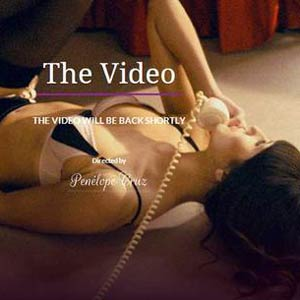 YouTube censura un vídeo de Penélope Cruz de lencería