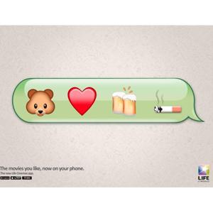 ¿Adivina las películas que se esconden detrás de los emojis de esta campaña publicitaria?