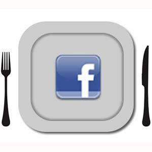 ¿Hambre, aburrimiento? Facebook tiene la solución a sólo un clic