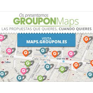 Groupon España lanza Groupon Maps, un servicio de búsqueda de ofertas por ubicación