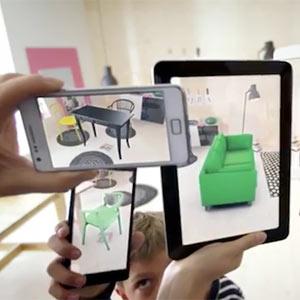 En el nuevo catálogo de realidad aumentada de IKEA los muebles se ven ¡en nuestra propia casa!