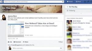 ¿Efemérides en Facebook? La red social nos ayudará a recordar lo que hicimos hace un año