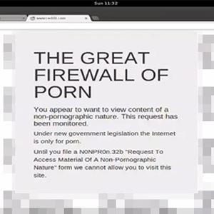 Un nuevo filtro bloqueará todas las páginas que no tengan contenido pornográfico