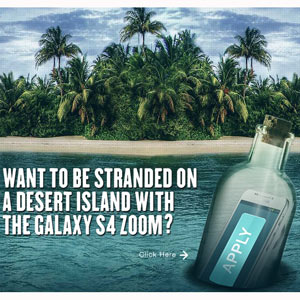 Un reality show de Samsung le ofrece la oportunidad de ser el nuevo Robinson Crusoe, ¿se atreve?