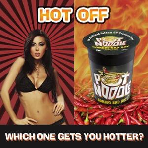 Reino Unido prohíbe un anuncio en el que se compara los noodles con una mujer en ropa interior