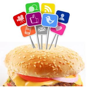 La deliciosa relación entre las redes sociales y la comida