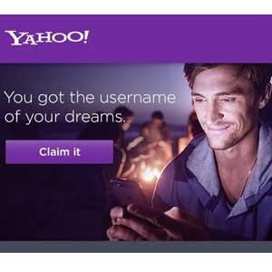 Yahoo! le da la oportunidad de conseguir el nombre de usuario de sus sueños reciclando los ya existentes