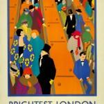 Le invitamos a montar en el metro de Londres a través de sus 20 carteles más vintage