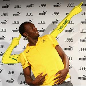 Usain Bolt renueva su contrato con Puma hasta las Olimpiadas de 2016