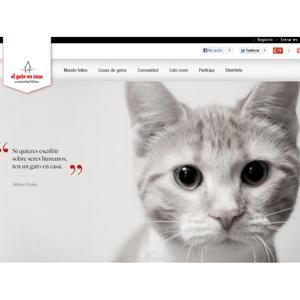 Genetsis lanza la nueva comunidad el gato en casa de - El gato en casa ...
