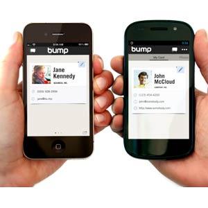 Google compra Bump, una aplicación que comparte información con solo golpear los móviles juntos