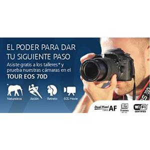 Canon le invita a los talleres de lanzamiento de la EOS 70D